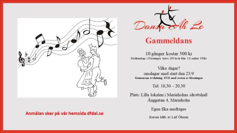 Gammeldans